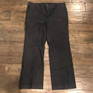 GAP Aubrey denim trouser. Women's 14A